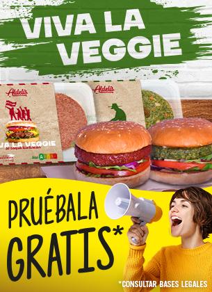 Pruébala Gratis - Viva la Veggie